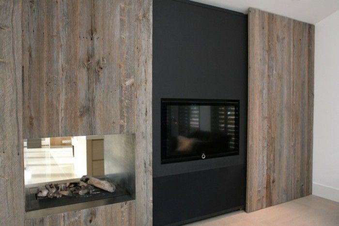 56 best images about interior on pinterest house by the lake ramen and modern fireplaces - Deco moderne open haard ...