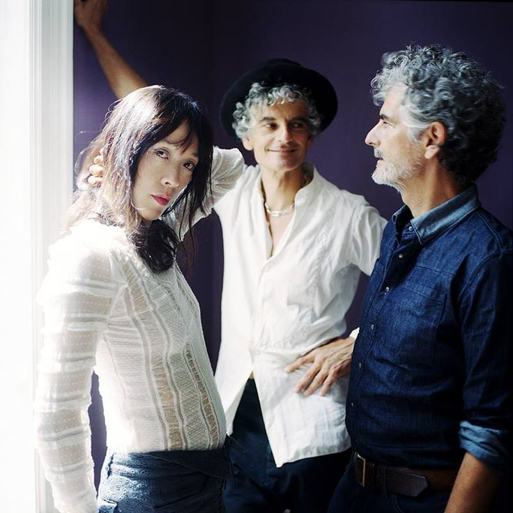Blonde Redhead 'Dripping' in collaboration with British fashion label AllSaints.