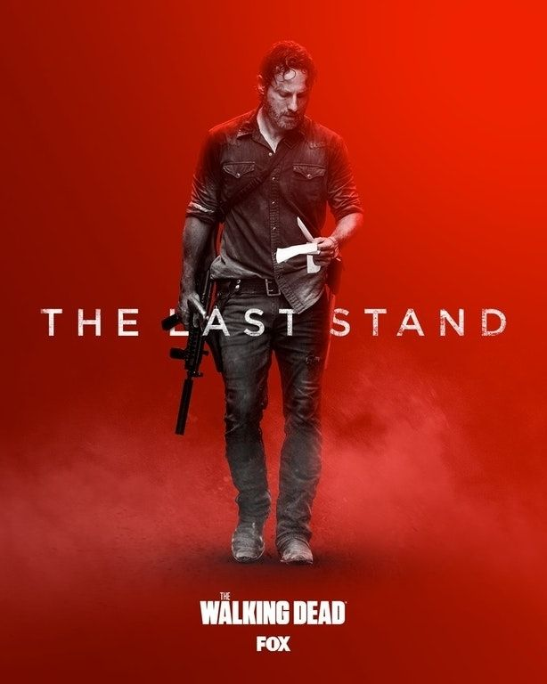 New The Walking Dead Season 8b Poster Released The Walking Dead Rick Walking Dead Walking Dead Season