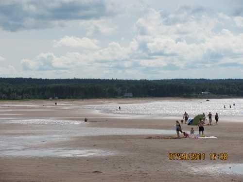 Blue Sea Beach, Malagash, Cumberland County, Nova Scotia Canada