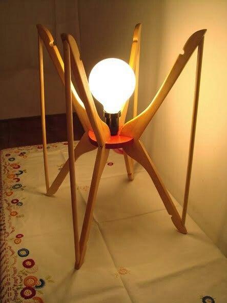 Las 25 mejores ideas sobre lamparas recicladas en - Lamparas originales recicladas ...