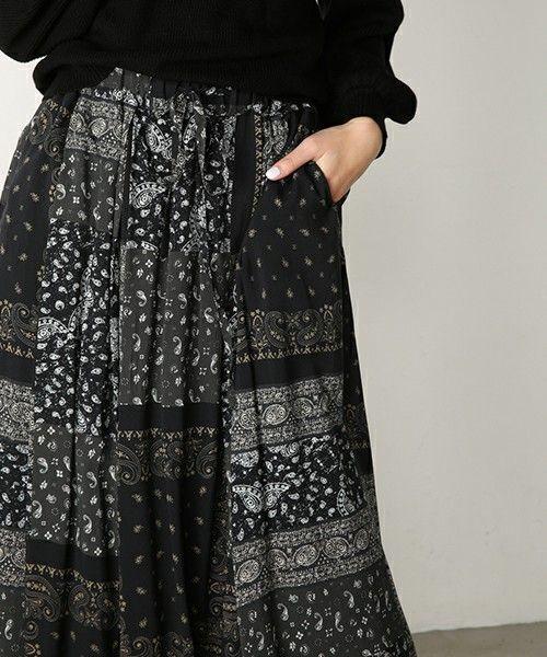 PATCHED BANDANA SKIRT(スカート)|MOUSSY(マウジー)のファッション通販 - ZOZOTOWN