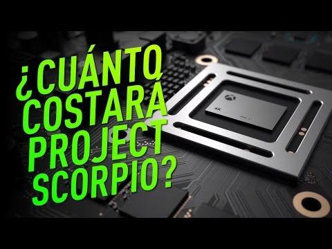 ¿Cuánto costará Project Scorpio? - YouTube