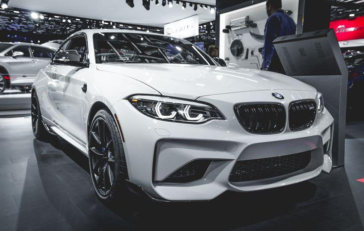 BMW F87 M2 alpine white at the 2018 montreal auto show