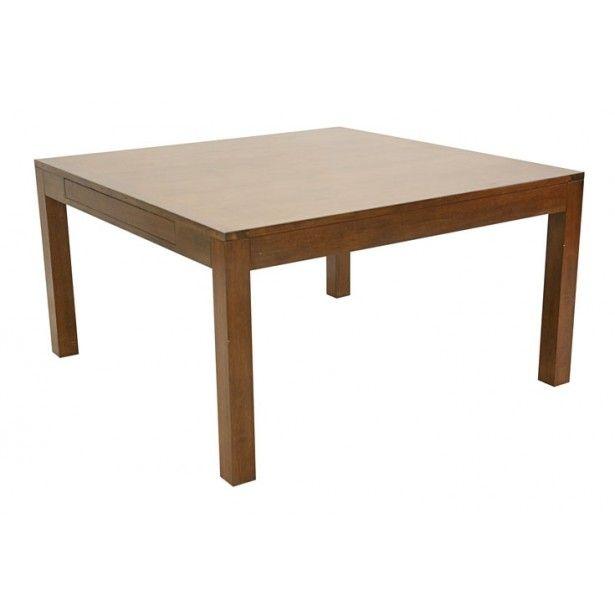 la table extensible en bois hva massif olga est une table carre 140240cm - Table Carree Extensible Bois