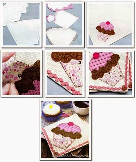Cómo hacer individuales patchwork infantiles. Moldes y paso a paso | Aprender manualidades es facilisimo.com