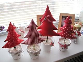 Pinheirinhos de Natal