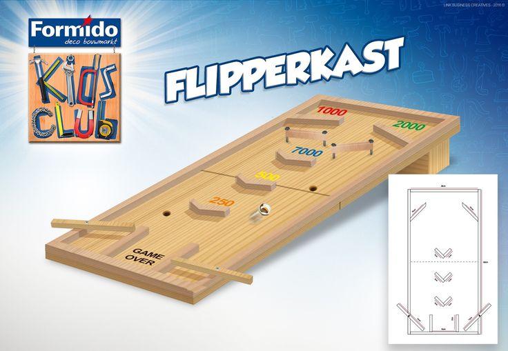 Kidsclub flipperkast