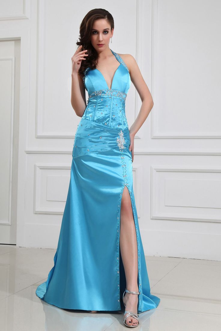 116 best Prom Dresses images on Pinterest   Chiffon prom dresses ...