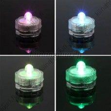 Vedenkestävä väriä vaihtava LED-valo