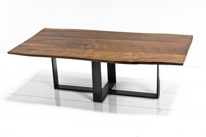 modern organic coffee table | Organic Solid Walnut Cofee Table