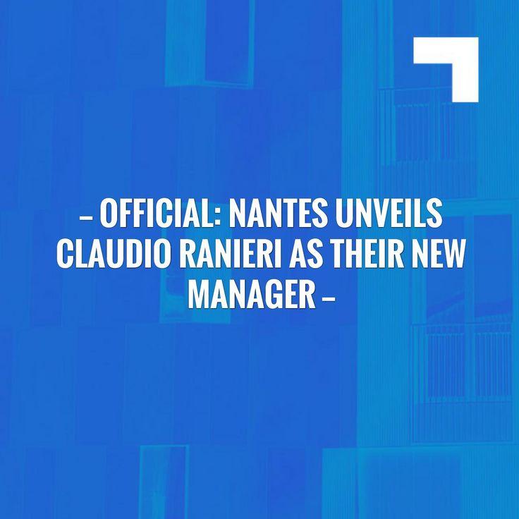 Check out my new post! Official: Nantes unveils Claudio Ranieri as their new manager :) http://sportstribunal.com/ligue-1-news/transfers-ligue-1/official-nantes-unveils-claudio-ranieri-as-their-new-manager/?utm_campaign=crowdfire&utm_content=crowdfire&utm_medium=social&utm_source=pinterest