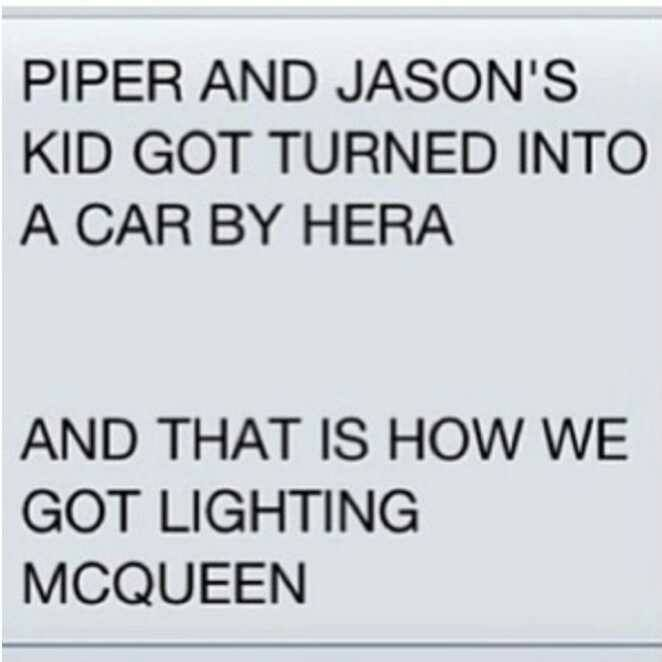 This is how weird the Percy Jackson fandom is