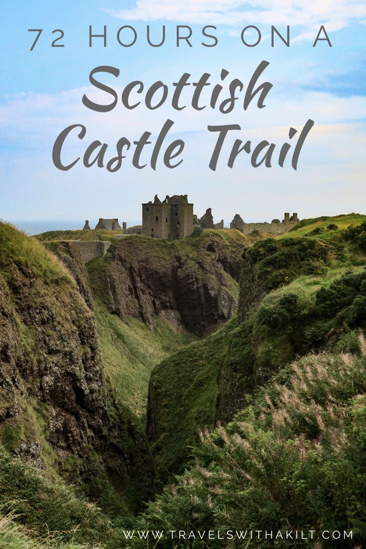 Ever wanted to take a Scottish #castle road trip? Here's a 72 journey from the south west to the north east taking in some of Scotland's most spectacular and romantic ruins! #Scotland
