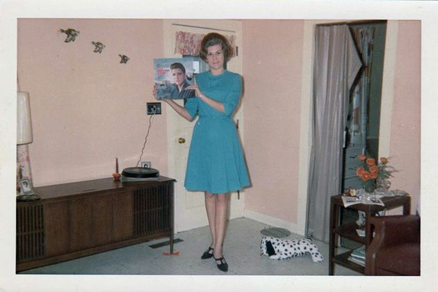 Throwback Photographs Show People Proudly Posing with Vinyl Records