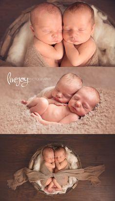 Twin Newborn Boy Photos | Oregon | LiveJoy Photography