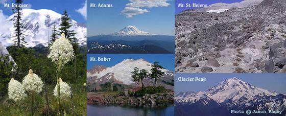 ワシントン州の火山