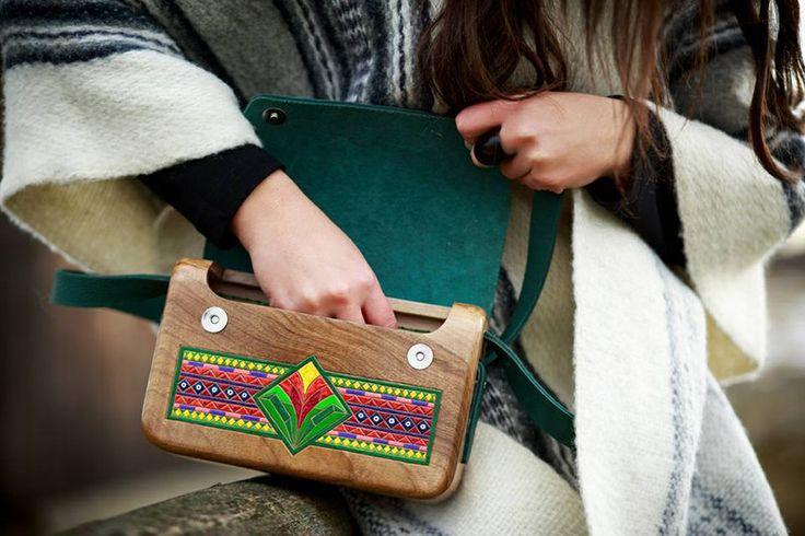 Wooden Bag_DMZ - WeLoveFolk - Torby na ramię
