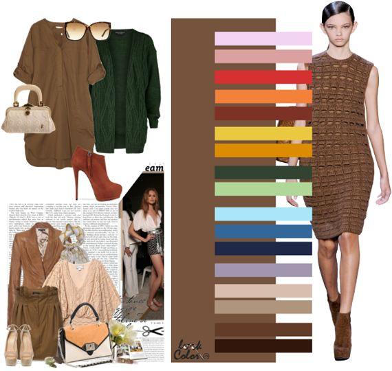 Модные цвета осень-зима 2011-2012. Волнующие тона