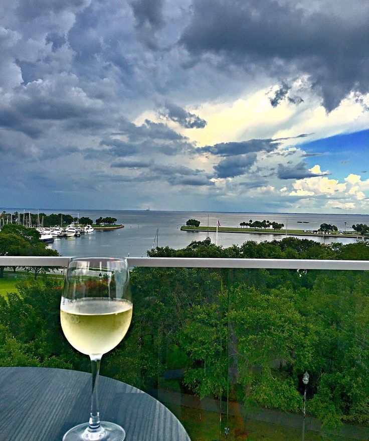 The Canopy Rooftop Bar | St. Petersburg FL | Boutique Hotel Fine Dining Restaurant & Rooftop Lounge | Cloudy or clear it's all alright when #HappyHour is here  : @Andi_RoamsAbout