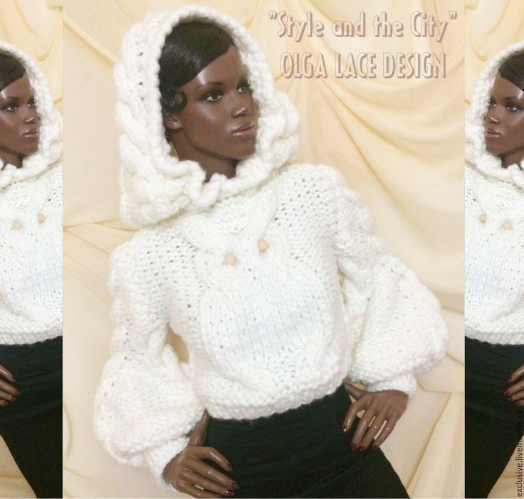 """Купить Свитер с капюшоном из коллекции """"Style and the City"""" от Olga Lace…"""