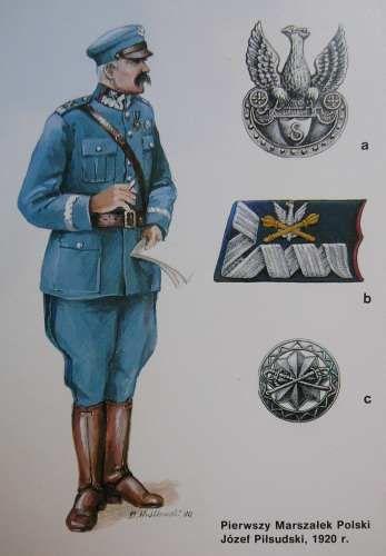 Polish Army field marshal's uniform, 1920 (as worn by Marshal Józef Piłsudski).