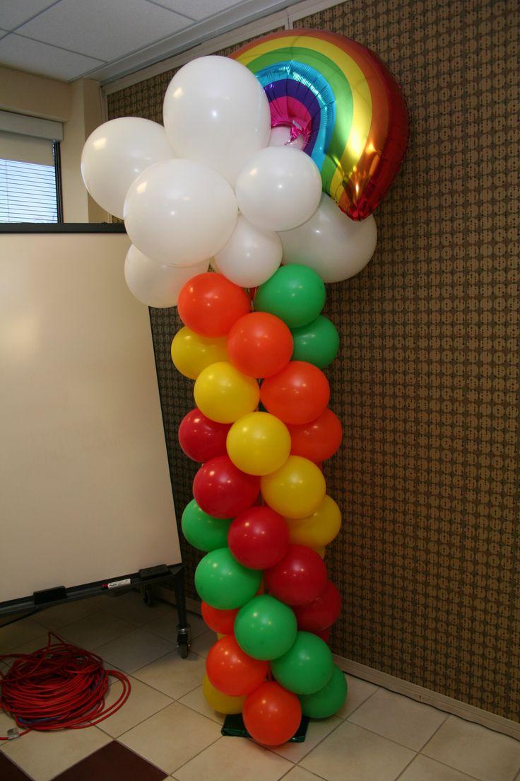Themed balloons light bright fun ballooncolumns