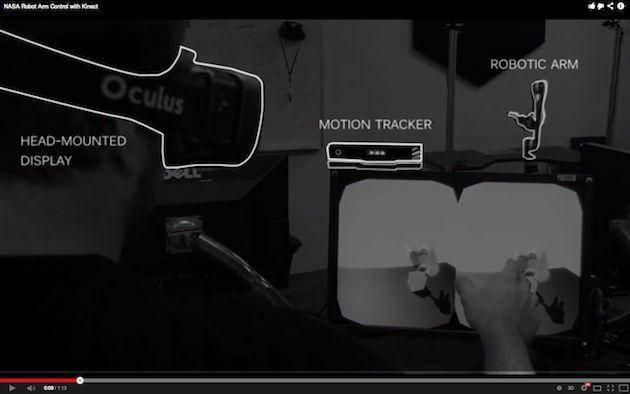 #NASA creates a more immersive way to control a space robot using #kinect and #oculus  http://mageca.com/news/2013/nasa-makes-use-microsofts-kinect-windows-v2/