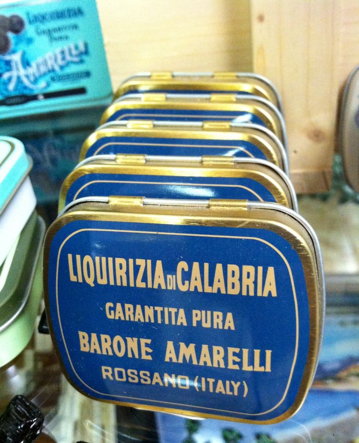Liquirizia Amarelli Rossano Calabria (Italy)