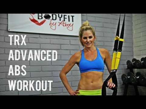 12 Minute TRX Advanced Abs Workout for Strong Abs and A Sculpted Core - YouTube