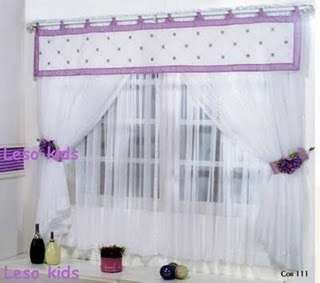 Cortinas para ni as cortinas pinterest for Cortinas para ninas