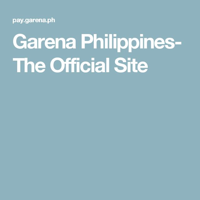 Garena Philippines- The Official Site