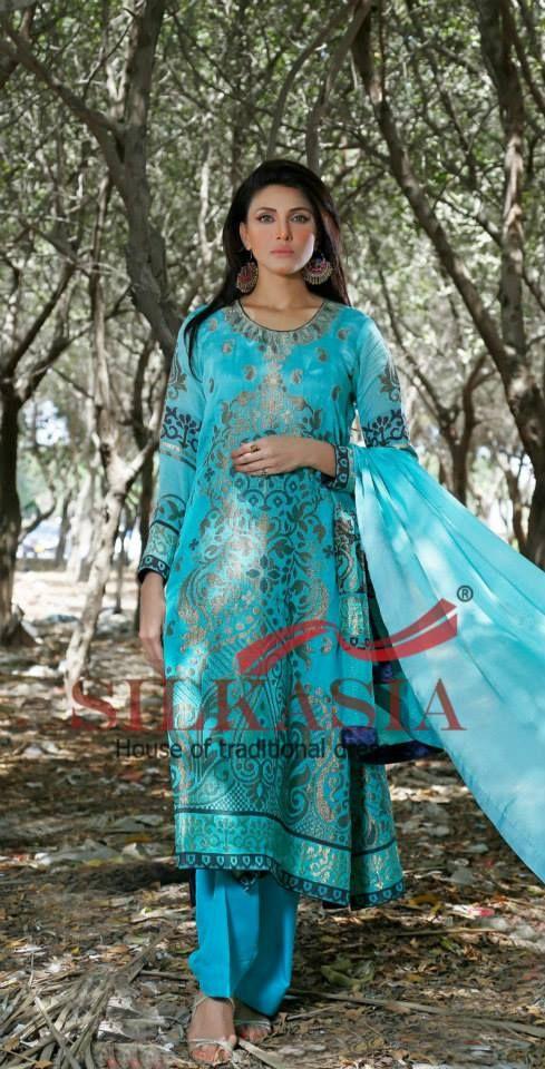 Silkasia Eid-Ul-Fitr Dresses 2014 With Price