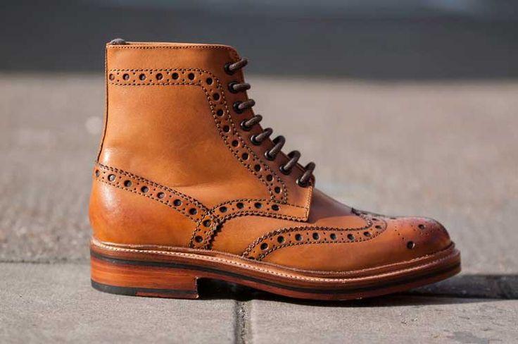 Grenson Shoes - Blitz and Edwin Biker Boots - Men Style Fashion