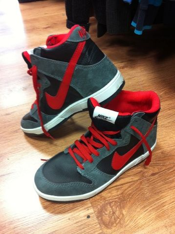Super trendy Nike Hi Tops donated to our Camden Store.