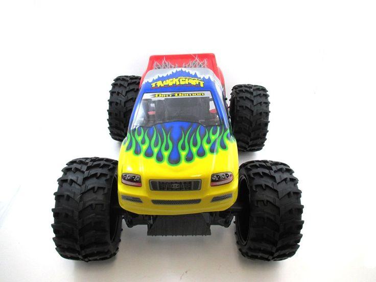 """RC Remote Control15"""" 1:10 RC Crawler King 4WD Radio Control MC07D Yellow"""