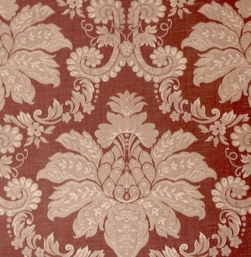 4 Yards Gorgeous Hi End Victorian Rose Damask Fabric | eBay