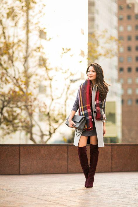 Cozy :: Burgundy boots