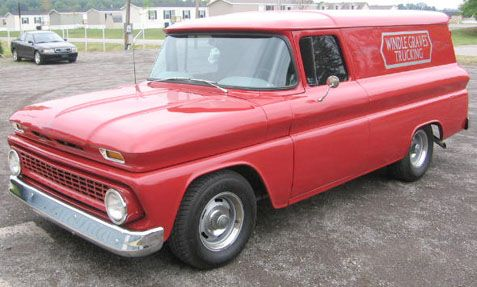 1963 chevy panel truck...just awesome!