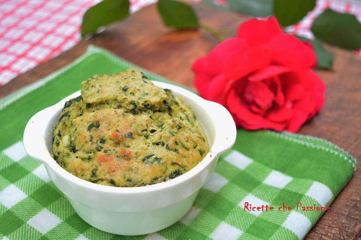 Muffin integrali ricotta e spinaci