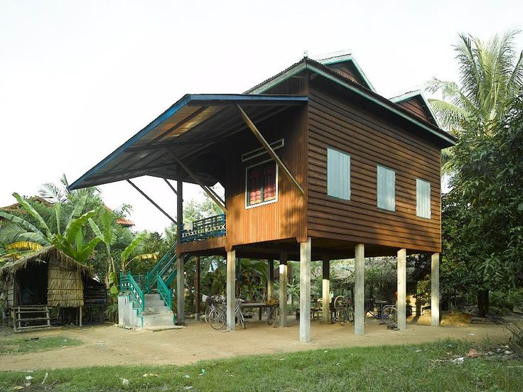 Indochina Modern Khmer House In Cambodia Ref Arch