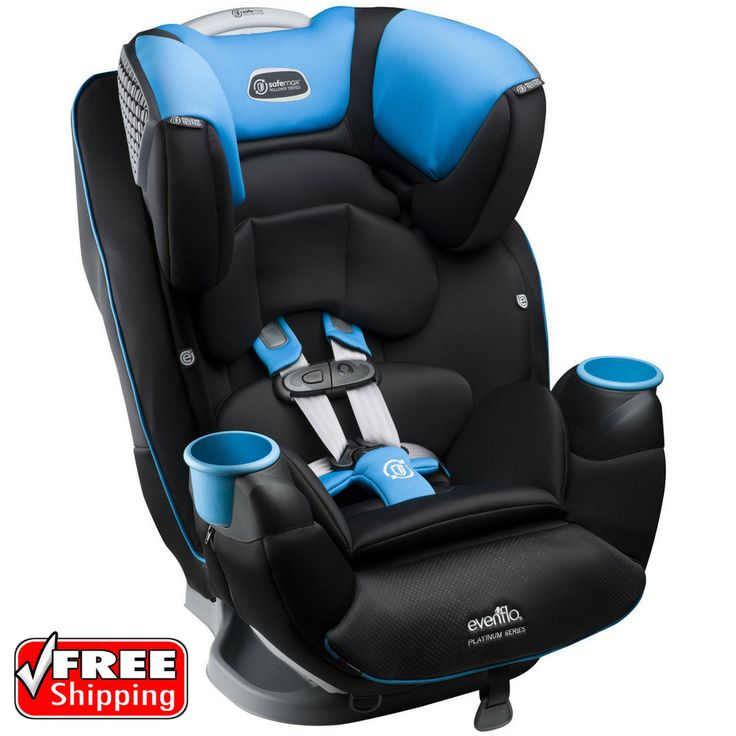 Evenflo Platinum SafeMax All-In-One Convertible Baby Toddler Car Seat Marshall | Baby, Car Safety Seats, Convertible Car Seat 5-40lbs | eBay!
