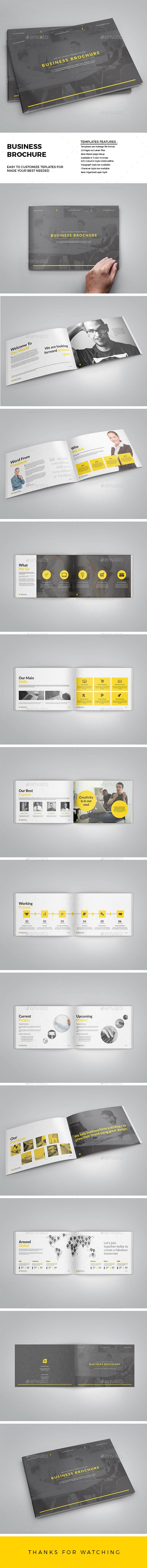 Brochure - InDesign Template • Only available here! ➝ https://graphicriver.net/item/brochure/13027051?ref=pxcr