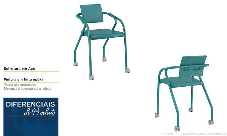 Conjunto Home Office com Escrivaninha, Cadeira, Armário e Bicama Branco/Preto/Verde - Combine + | Lojas KD