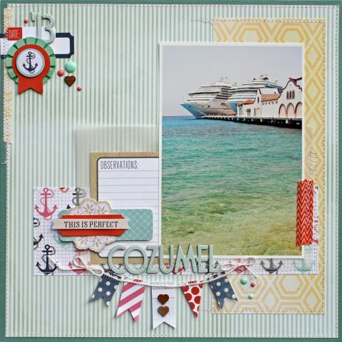 #papercraft #scrapbook #layout  September 2013 We Are Family Gallery - Gallery - Invision Power Board