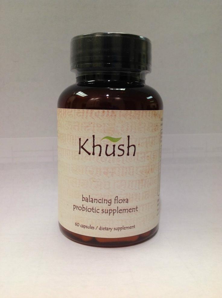 Khush Skin - Balancing Flora Probiotic Supplement, $32.00 (http://khushskin.com/products/balancing-flora-probiotic-supplement.html)