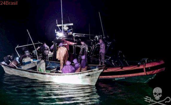 Sea Sheperd e Marinha mexicana interceptam seis barcos de pesca no Mar de Cortez