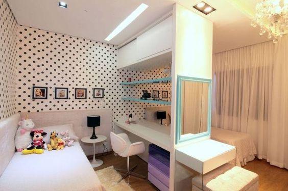 52 melhores imagens sobre Design de quartos pequenos no  ~ Quarto Solteiro Compacto
