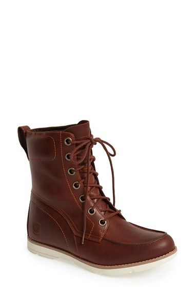 Timberland Earthkeepers® 'Mosely' Waterproof Leather Boot (Women) available at #Nordstrom