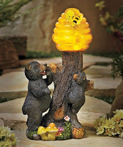 Solar Honey Bear Statue . $22.45. Our Solar Bear Statue Is The Beeu0027s Knees!